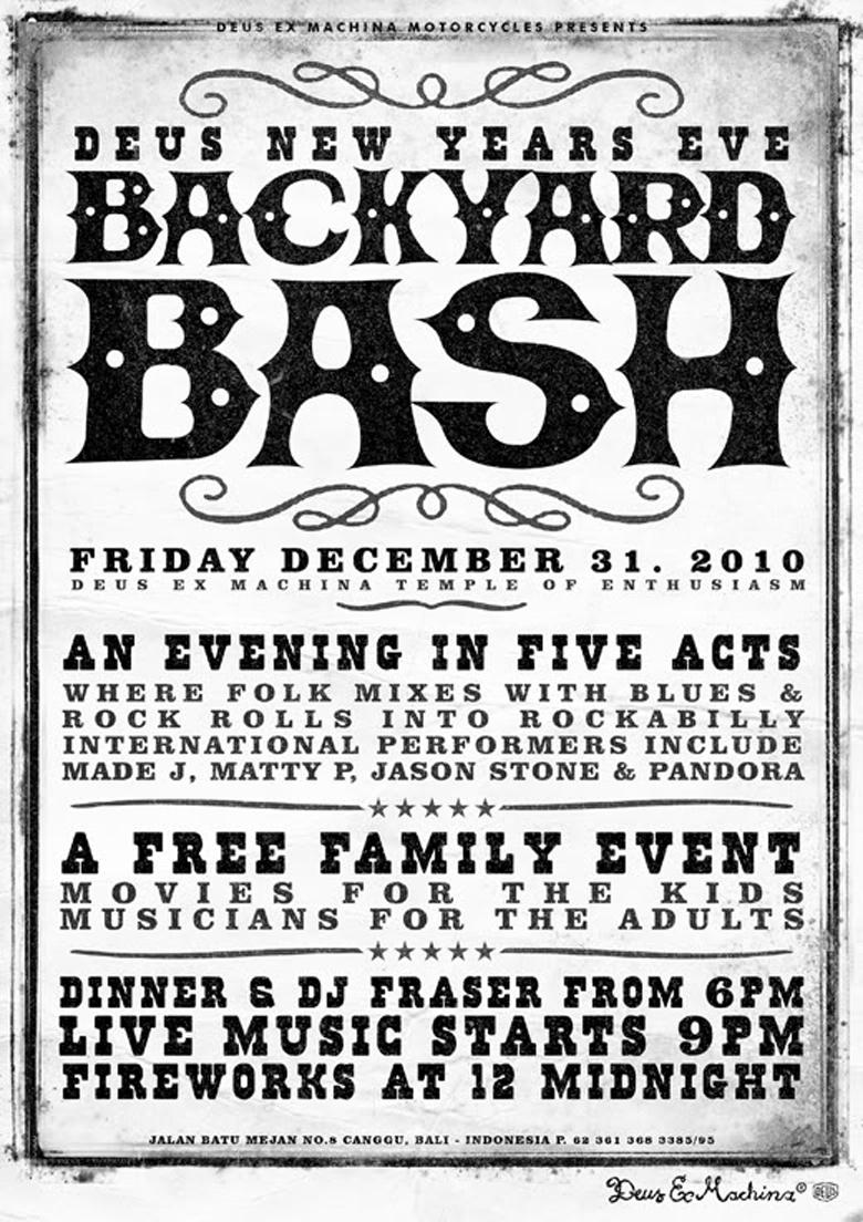 New Years Eve Backyard Bash Deus Ex Machinadeus Ex Machina