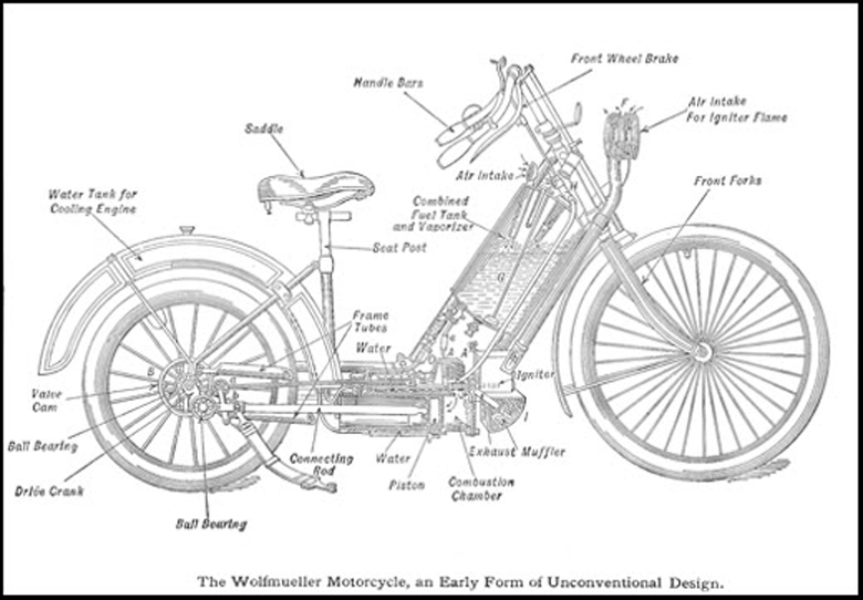 first motorcycle engine. with a few restored examples residing in museums across the world, one of which is surabaya, indonesia\u2026 proudly displaying its country\u0027s first motorized motorcycle engine i