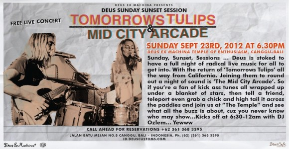 mid city + tomorrows tulipss
