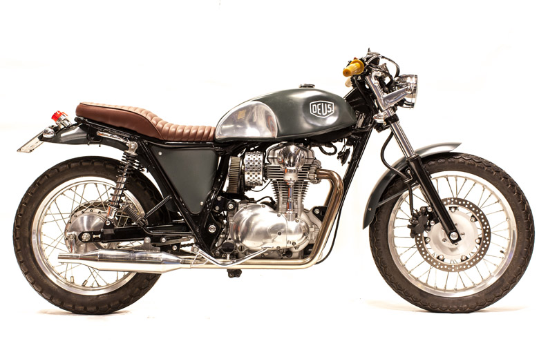Burnish Twin Kawasaki W800