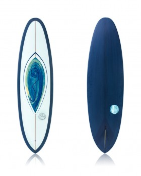 V-Bowl 6'10 Blue + Sea Foam - Ryan Lovelace