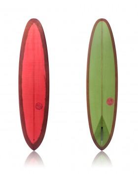 V-Bowl 8'2 Green + Orange Burn - Ryan Lovelace