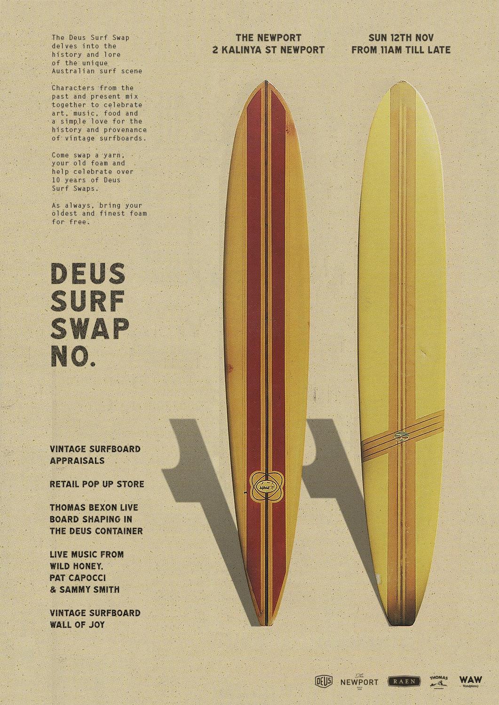 Save the date - SURF SWAP 11 | Deus Ex MachinaDeus Ex Machina